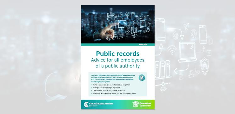 Public records: Advice for all employees of a public authority