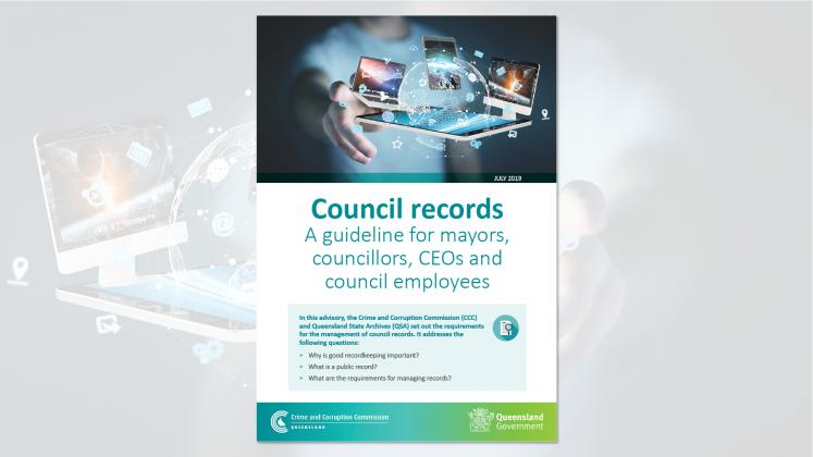 Council record guideline