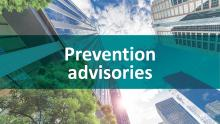 Corruption Prevention Advisories
